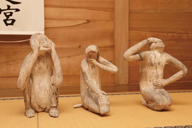 十二神将立像の中の1体の表情