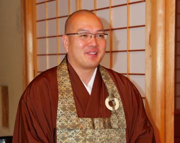 全日本仏教青年会 倉島隆行理事長