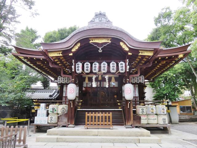阿波内侍と崇徳院所縁の京都の安井金毘羅宮