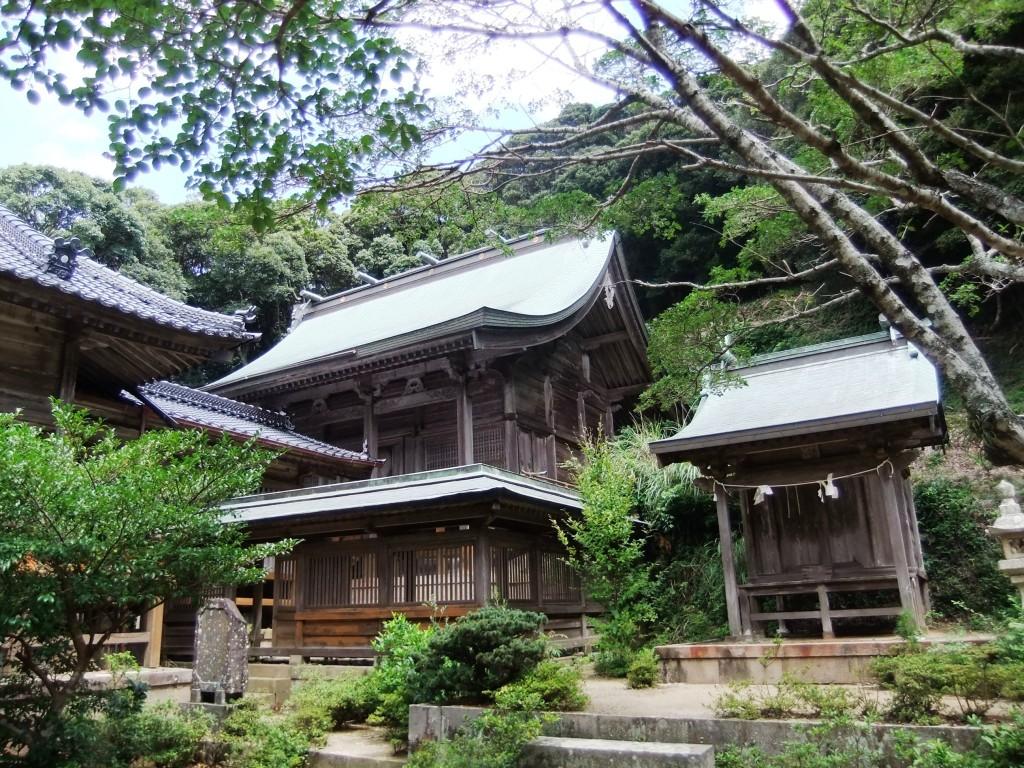 4・海神神社(木佐八幡宮)本殿