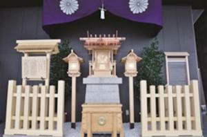タワー大神宮(幸稲荷神社の境外末社)