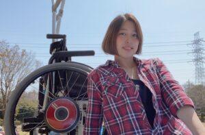 車いすYouTuber・眠梨桜さん